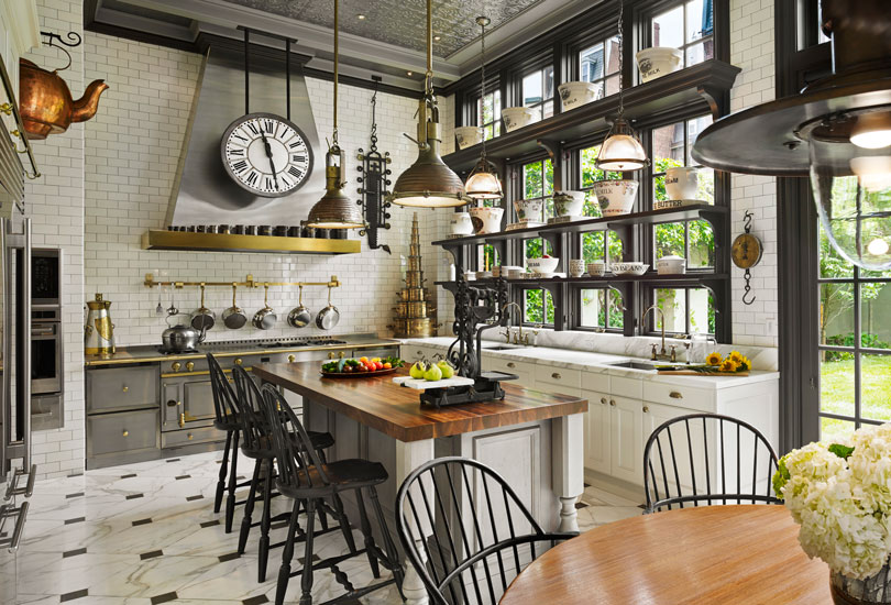 Victorian townhouse philadelphia pa kass associates for Victorian kitchen designs